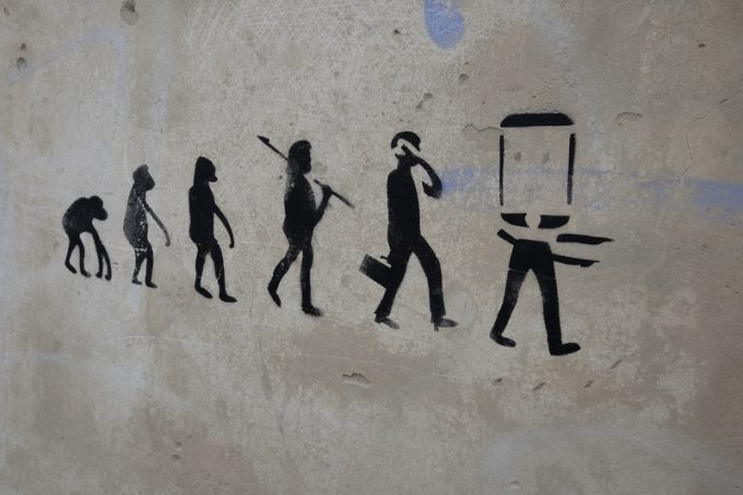 digital evolution  © Roberto Pangiarella