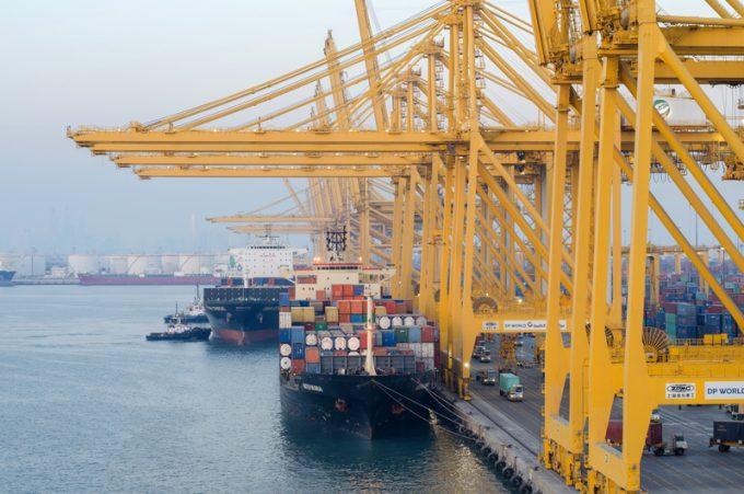 Vessels in port