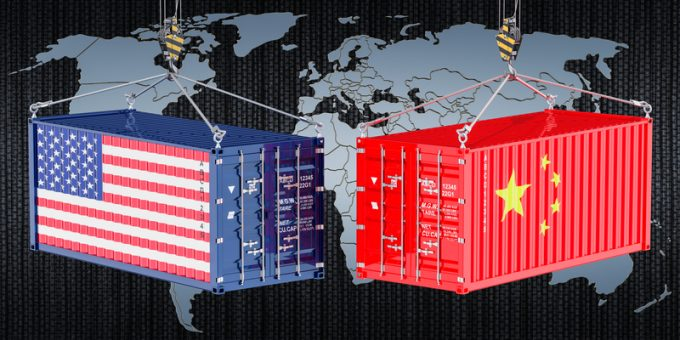 China USA trade and tariffs war, © Alexlmx