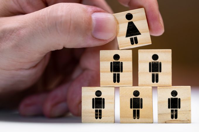 Women in leadership positions or promotion as a woman