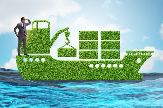 The green environmentally friendly vehicle concept