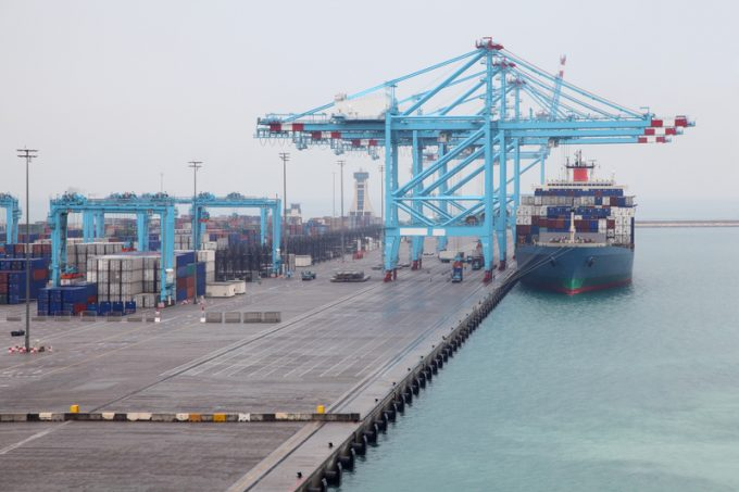 Abu Dhabi Khalifa port