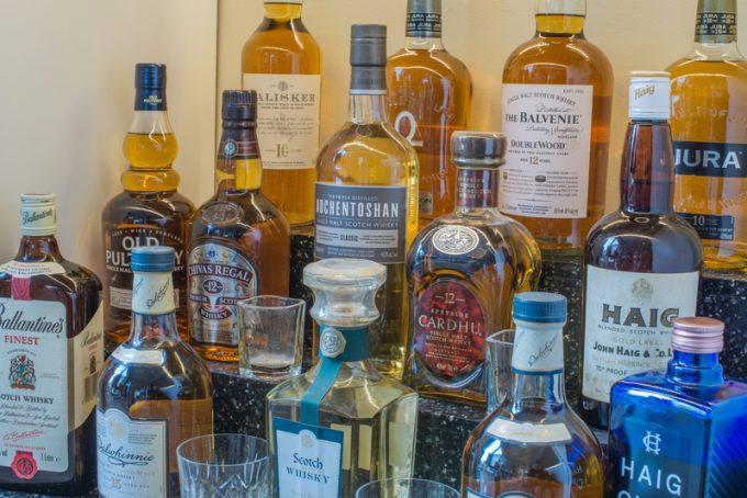 Whiskey exports
