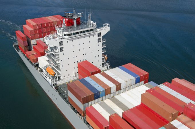 container ship charter market
