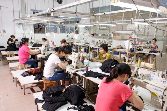 china garment factory
