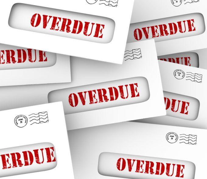 Overdue Bills © Iqoncept