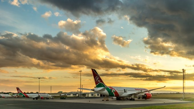 Kenya Airways  © Derejeb