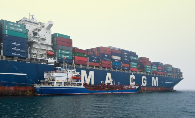 CMA CGM gains market share, but a weak Q1 sees red ink on