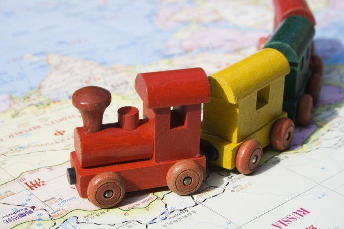 russian railway © Christopher Rawlins