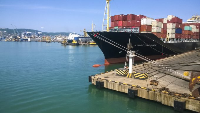 novorossiysk small container ship