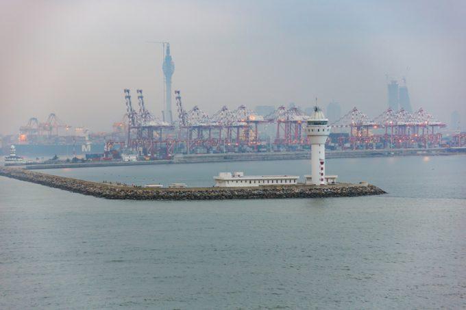 Port entrance of Colombo