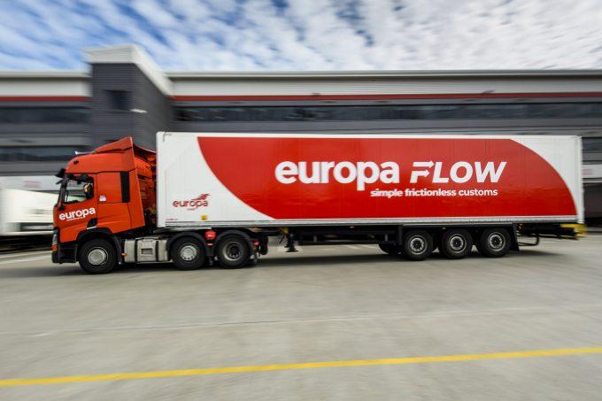 Europa Flow truck