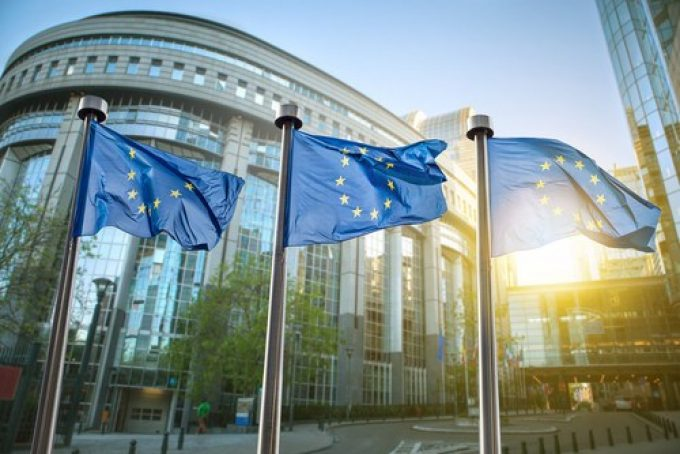 European-Union-flags