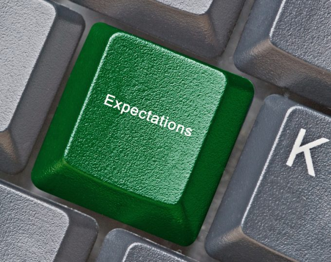 Hot key for expectations
