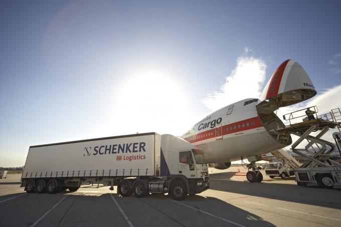 DB Schenker reports air and ocean freight growth but revenues down