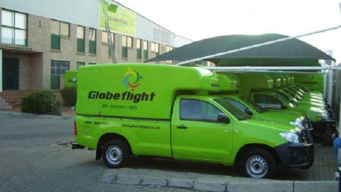Globeflight Worldwide Express trucks