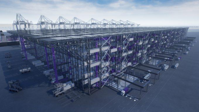 High bay storage