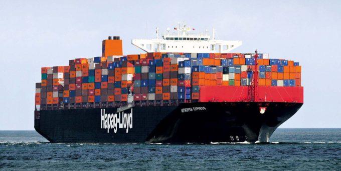 Antwerpen Express am 17.8.2013 vor Rotterdam