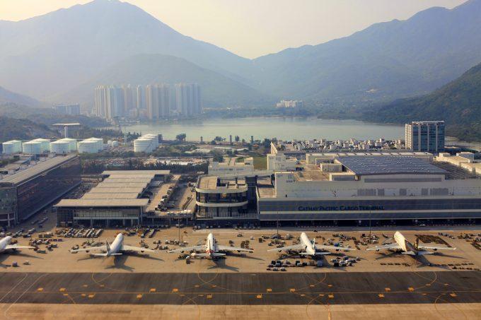 hong kong air freight © Tatiana Morozova