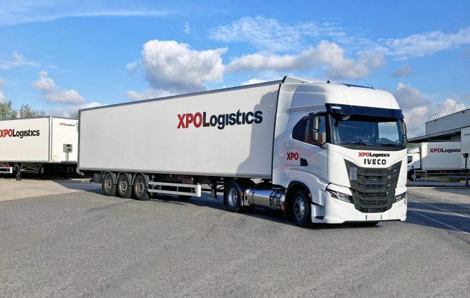 XPO Logistics LNG trucks