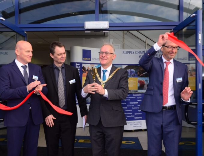 (l-r) Zsolt Vecsera Philippe Doyer Lord Mayor Malcolm Kennedy and Pierre-Jean Lorrain Caption
