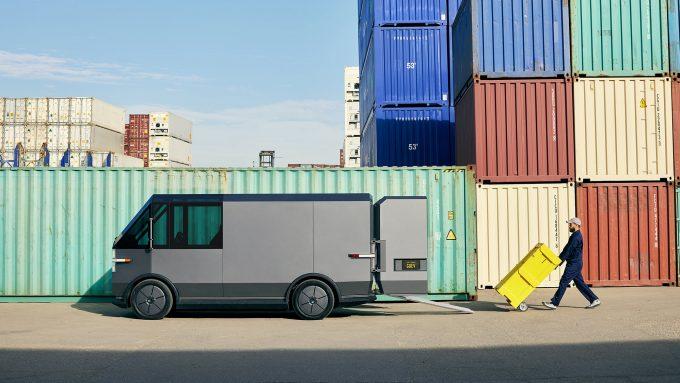 Last Mile Delivery Van Credit Canoo