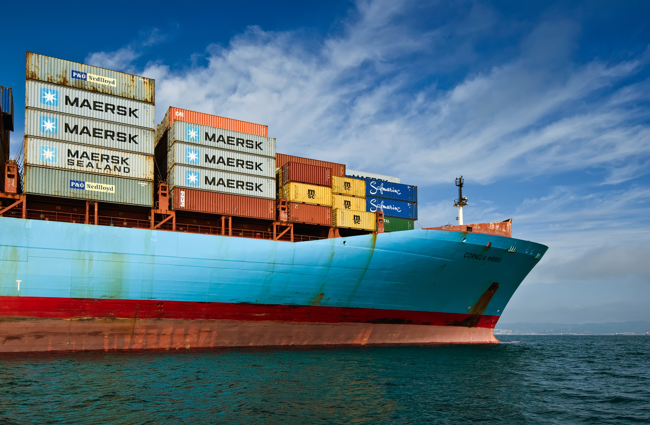 Maersk goes back in the black as it grabs volume and cuts cost