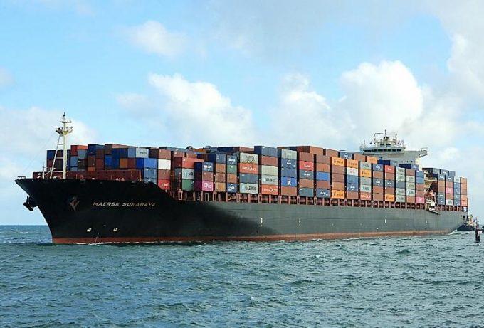 Maersk Surabaya Credit VesselFinder