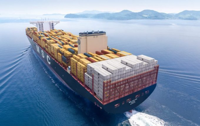 MSC unveils its newest boxship: greener, safer, more