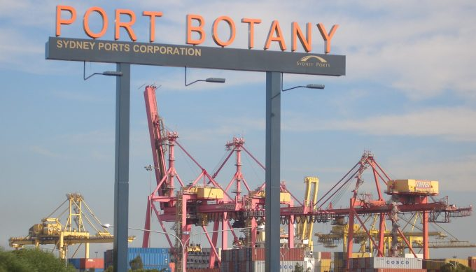 Port_Botany Source Port Botany