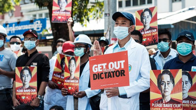 Protest_in_Myanmar_against_Military_Coup_14-Feb-2021_14