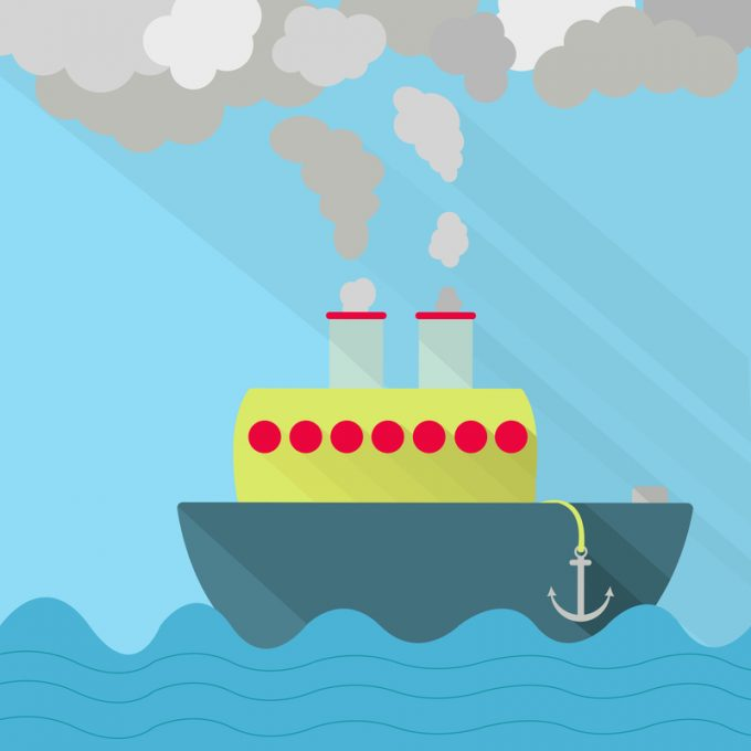 IMO agrees strategy for cutting carbon dioxide emissions in shipping