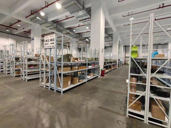 Sinolines Xiamen warehouse Credit Government of Fujian Province.