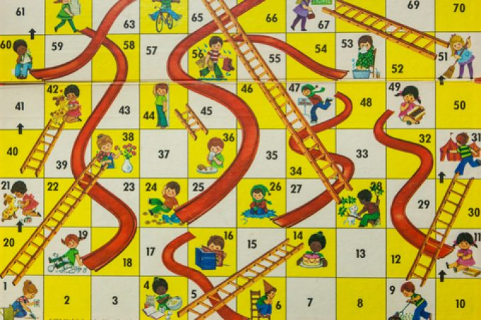 snakes and ladders © Erin Cadigan