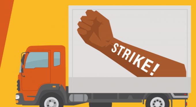 teamsters strike