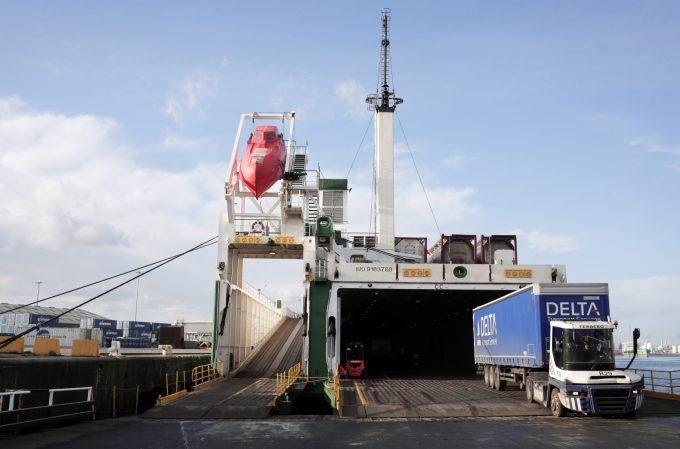 PD Ports' Teesport. Photograph: Stuart Boulton.