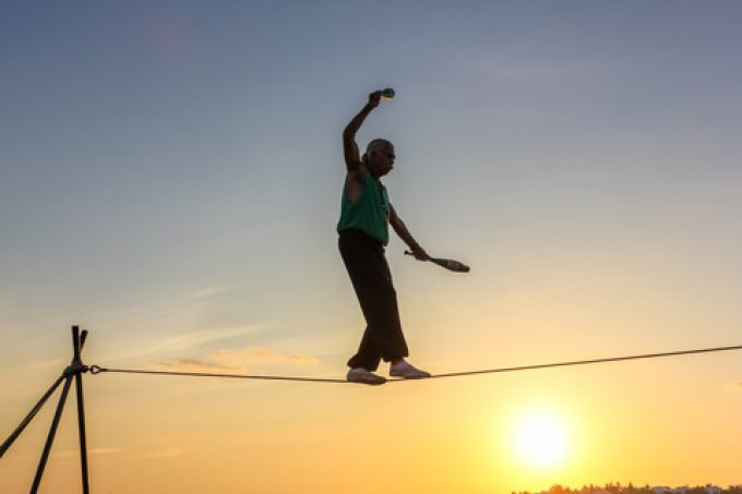 tightrope © Bennymarty