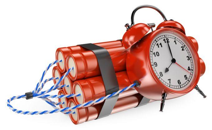 3D Time bomb © Texelart