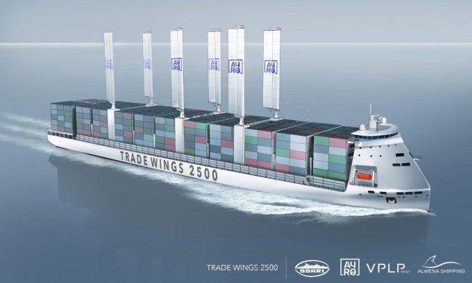 Trade wings 2500 at sea