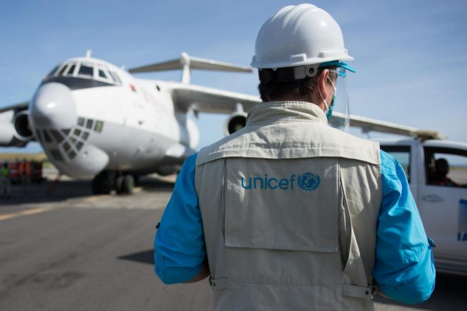 unicef air caego