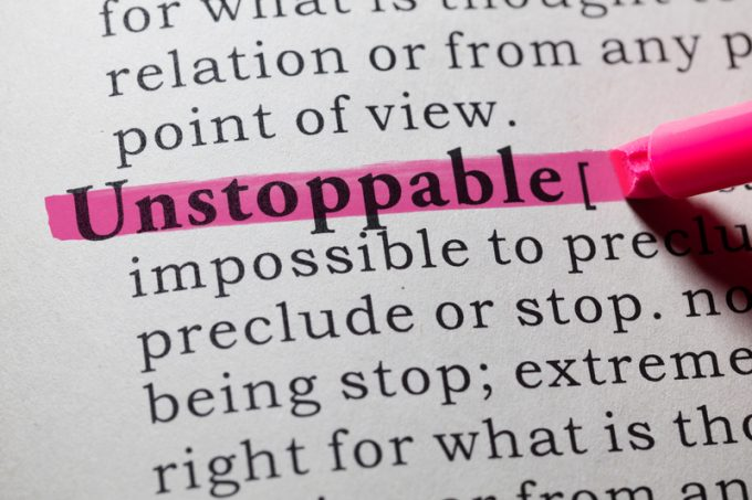 definition of unstoppable