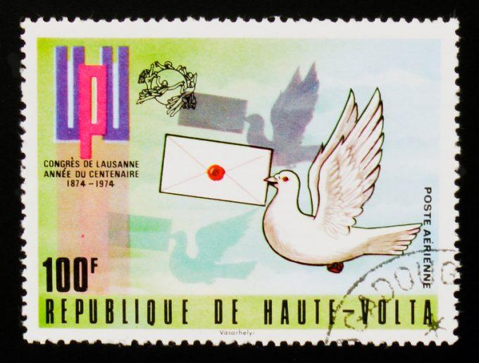 UPU mail post