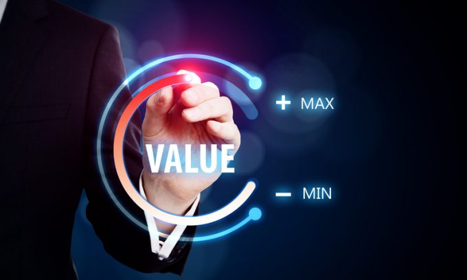 Value and innovation concept
