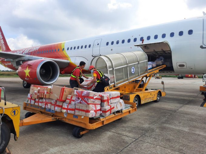 vietjet cargo UPS partnership