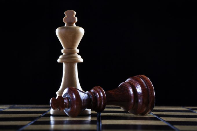 chess: winner and a loser
