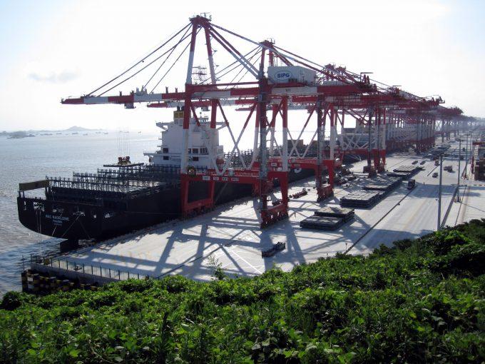 Yangshan-Port-Balanced Credit Marqueed